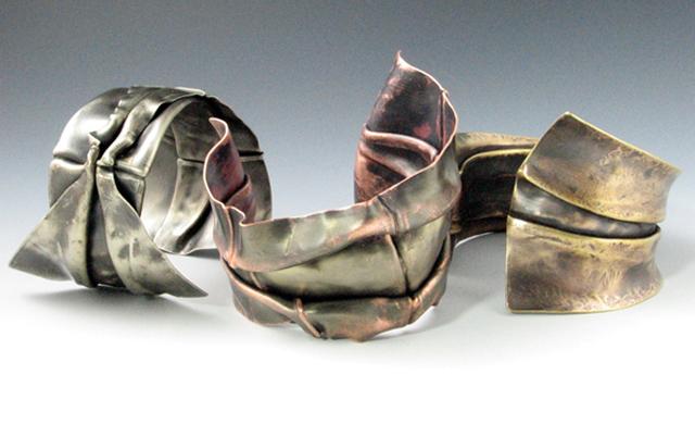 Fold Formed Metal Cuffs