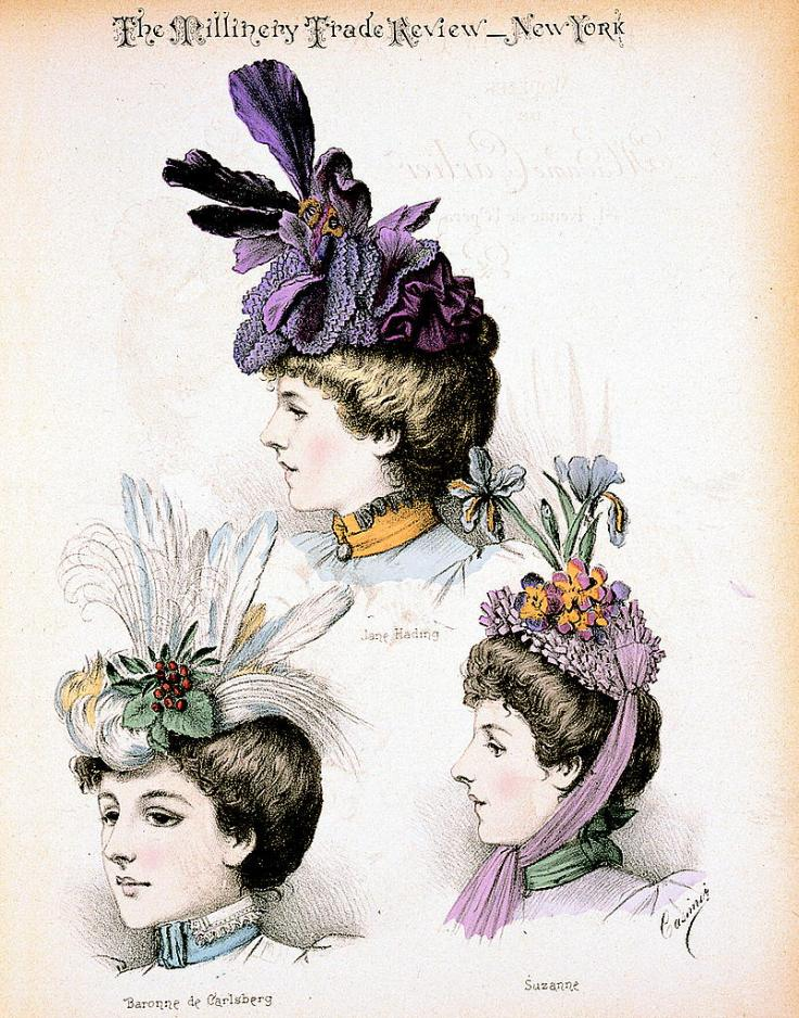1897-February-Millinery_Trade_Review-Modeles_de_Madame_Carlier-WikiCommons